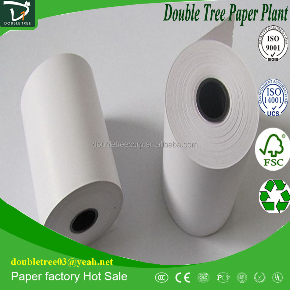 Self Adhesive Coated Thermal Paper 57*30 55 gsm