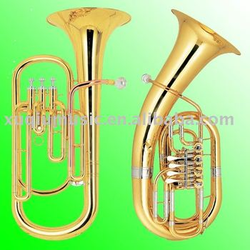Brass 3 Pistons Baritone/ 4 Rotary Euphonium/marching Baritone for sale