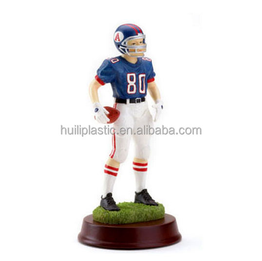 Custom Mini Sports Impressions Figurines football action for home decoration