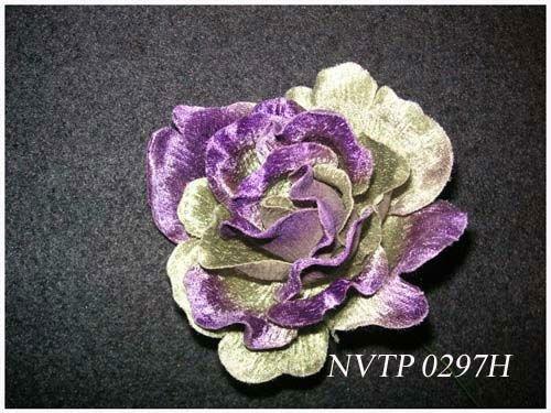 Handmade Artificial Small Velvet Flower Buy Velvet Flowersilk