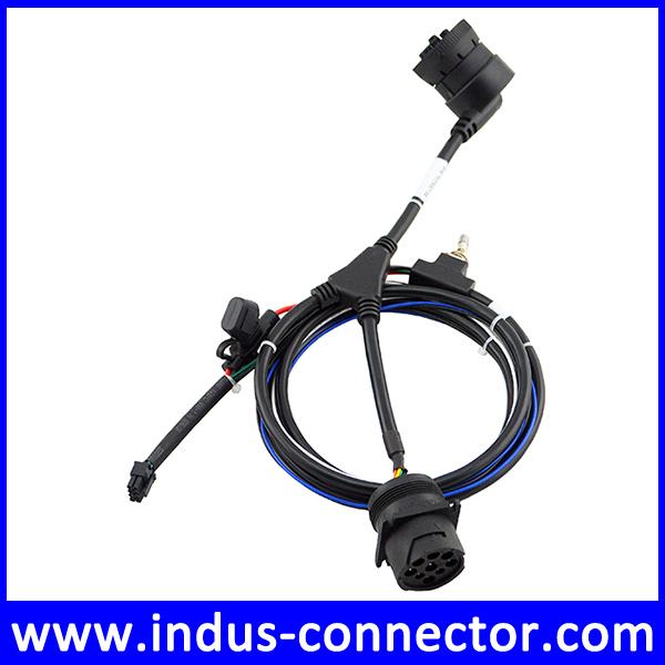 j1939 deutsch connector y splitter 9 pin diagnostics cable. Black Bedroom Furniture Sets. Home Design Ideas