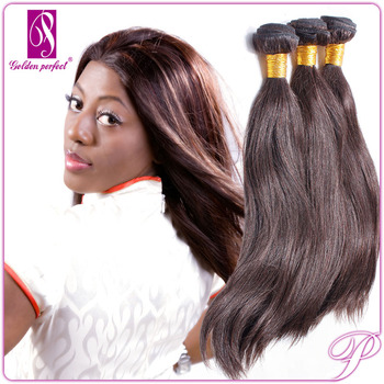 Wholesale Cheap Mongolian 100 Human Hair Sew In Weave Light Brown Silky  Straight Hair Extensions