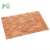 Anti-slip rubber feet bamboo bathroom shower floor mat