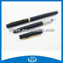 2013 Black Business Office Thin Metal Fountain Pen