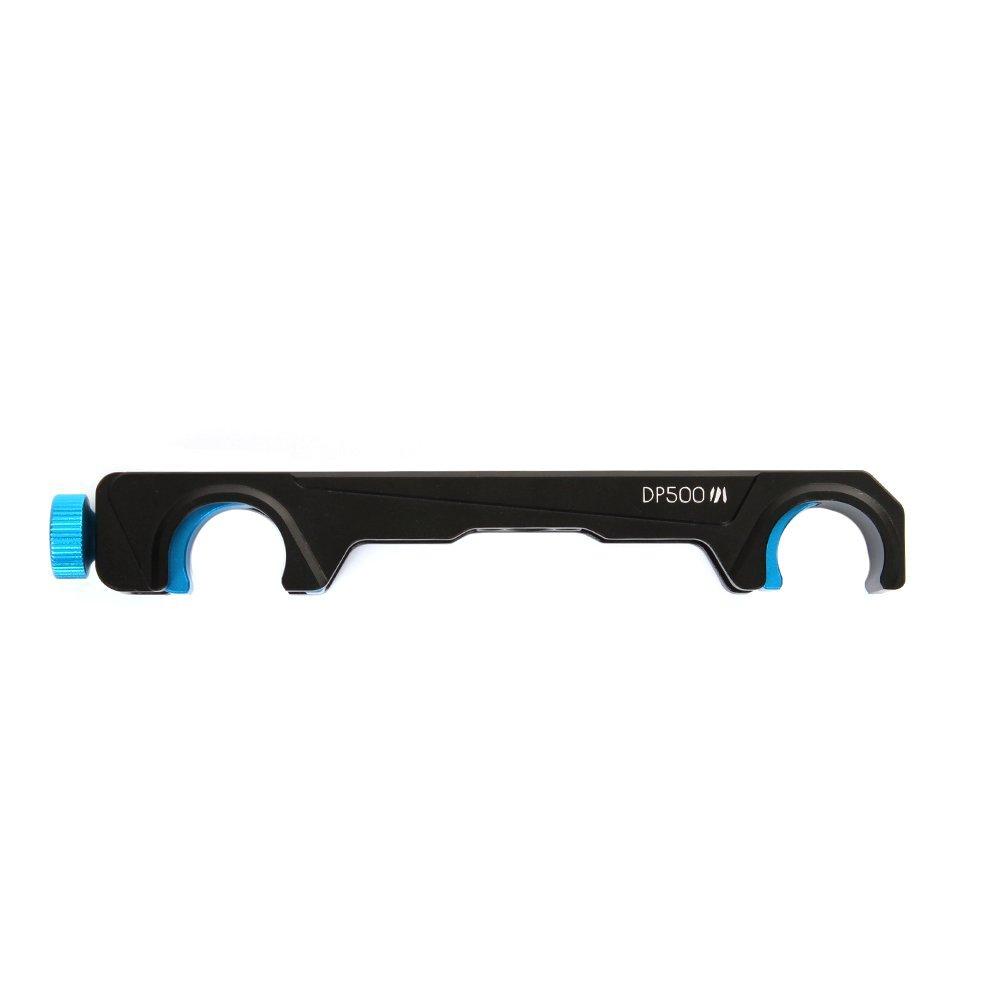 Fotga DP500 III 19mm Quick Release Rail Rod Clamp for Follow Focus Sony A7 A7R A7Rs II III A9 A6000 A6300 A6500 Panasonic GH3 GH4 GH5 GH5s Canon EOS 6D 7D 5D Mark II III Nikon D850 D810 D750 Camera