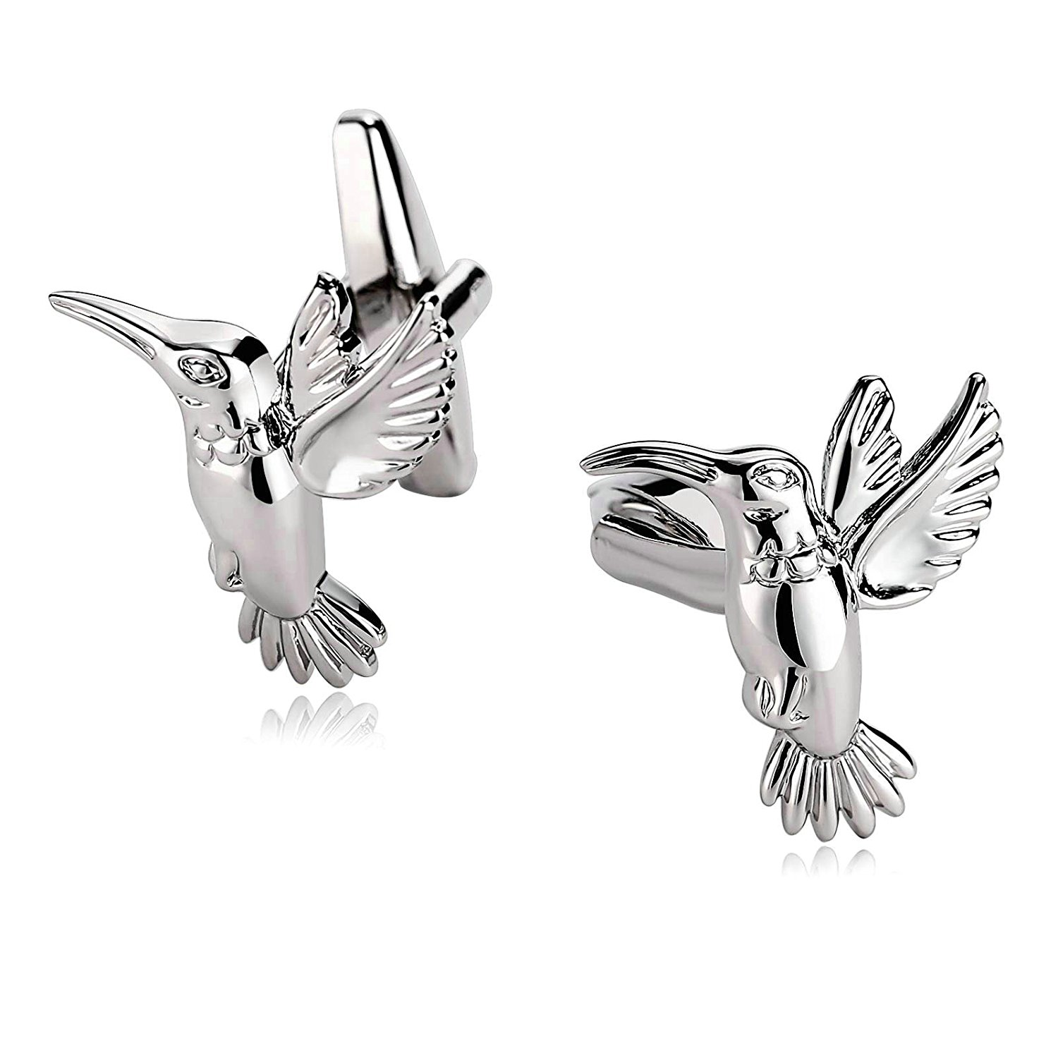 5 Styles Mens Stainless Steel Cufflinks 2Pcs, Novelty Cufflinks, Dad Unique Jewelry Box Charm Aooaz Mh81