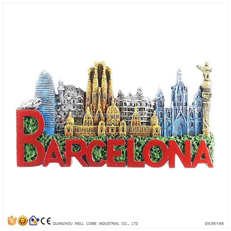 Wholesale Tourist Souvenir Gift Souvenir Spain