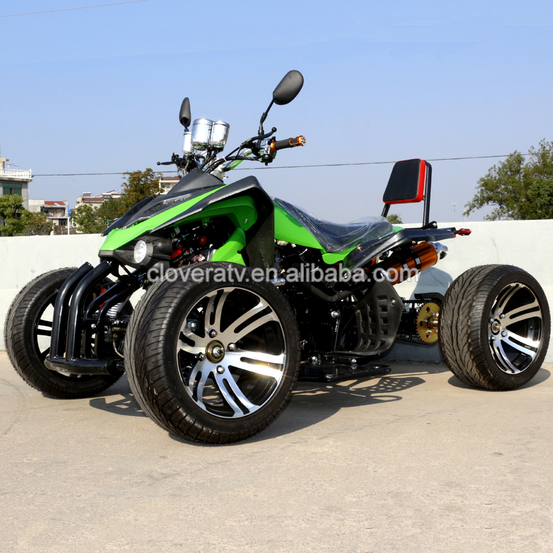 Petrol Powerful Road Legal Kawasaki Racing Quad 350CC ATV con EEC COC
