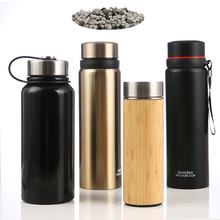 Custom Double Wall Stainless Steel Vacuum Portable <span class=keywords><strong>Alkaline</strong></span> Water Filter Ionizer <span class=keywords><strong>Botol</strong></span> Hidrogen Kaya <span class=keywords><strong>Botol</strong></span> <span class=keywords><strong>Air</strong></span> Generator