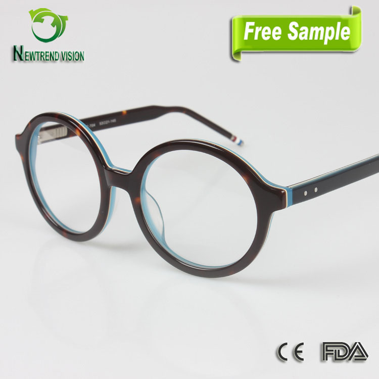 Eyeglass Frame In German Language : nieuw design brillen china charmant ronde vintage mooie ...
