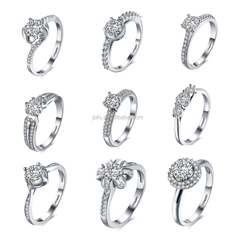 Antique Round 3ct White sapphire Cz 925 Silver Wedding Band Ring set for women