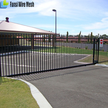 Easy installed spear top tubular steel fence and gates designs for easy installed spear top tubular steel fence and gates designs for australia with rails and picket workwithnaturefo