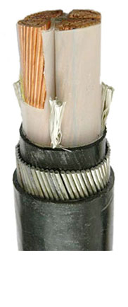 0.6/1kv Cu 도전 체 XLPE insulated PVC electrical 동 힘 cable