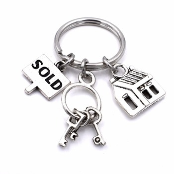Nurse Doctor Softball Hockey Player Singer House Seller Profession Keychain