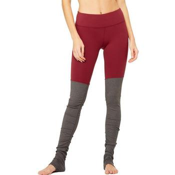 07e4f6f60602a Bangladesh wholesale clothing yoga goddess ribbed legging-red velvet stormy  heather