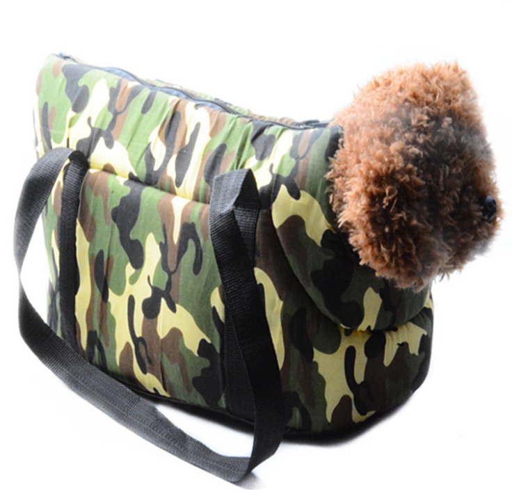 New fashion camouflage pet bag going out with pet dog and cat Portable pet carrrier bag