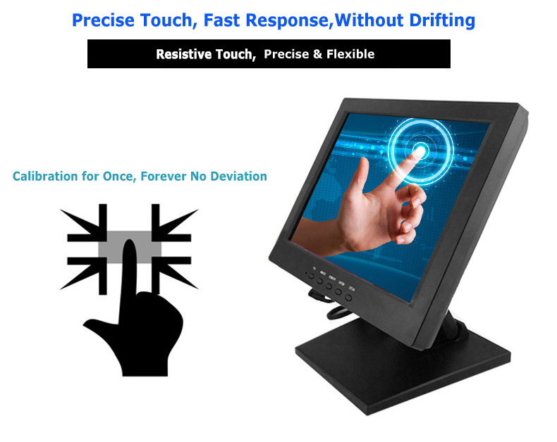 10 Inch Tft Lcd Touch Screen Monitor Cheap 10 4 Inch Led Touchscreen  Monitor For Pos - Buy Touch Screen Monitor,Pos Touch Screen Monitor,10 Inch  Tft