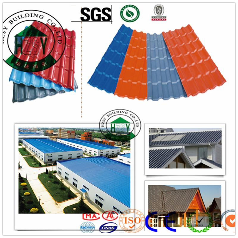 China Market Pvc Roof Sheet Tile Coating Corrugated Buy