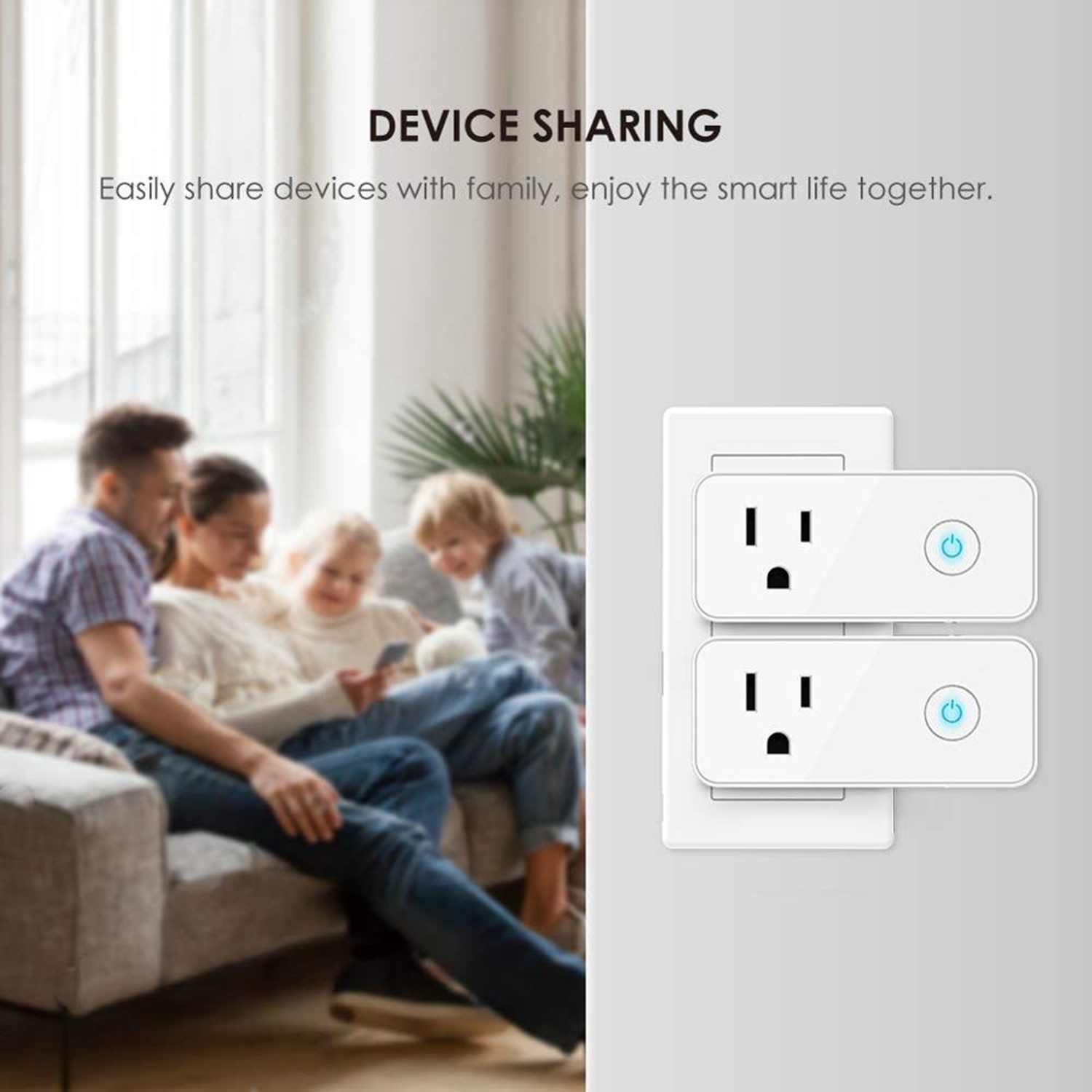 16A Wireless home elektrische wifi smart stecker mit USB steckdose