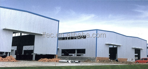 Free-design Fast Installation Space Frame Steel Warehouse