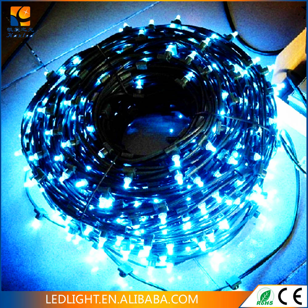 Clear Pvc Wire Led Clip Light 100m/roll Christmas Decoration Light ...