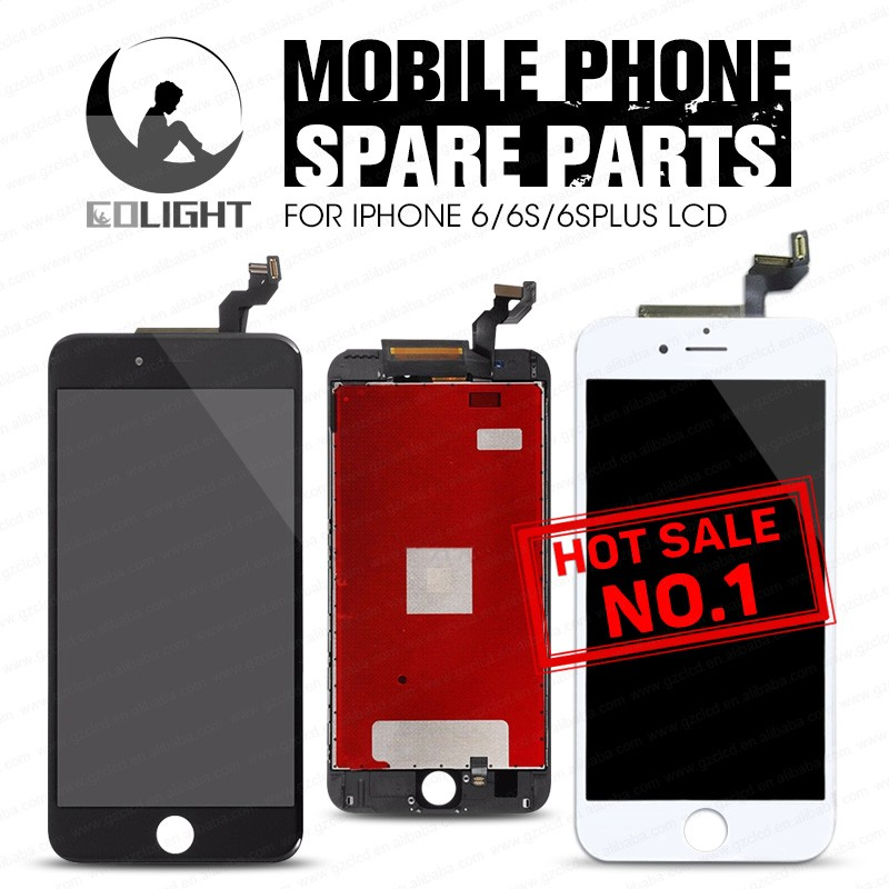 Factory cheap metal plate for iphone 6s plus replacement lcd with big Discount