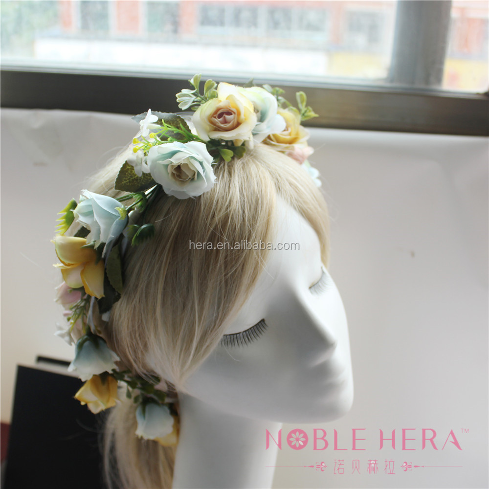 Artificial Flower Headband Artificial Flower Headband Suppliers And