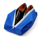 most popular custom logo design low price water resistant polyester shoes pouch bag with handle
