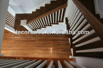 Antique Walnut Stair Treads And Handrails