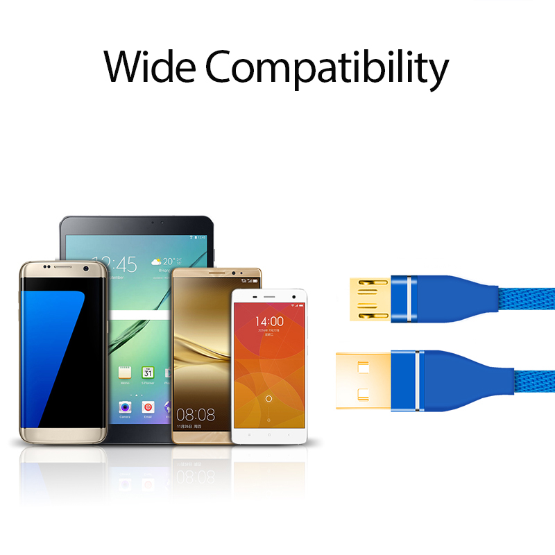 Shenzhen Original Data Transfer Line Nylon Braid USB Cable Cellphone Data Line For iPhone