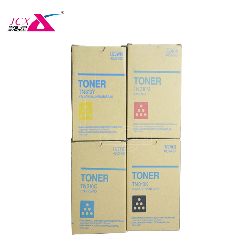 Compatibel Japan Kleur Toner Cartridge tn310 K C M Y voor Konica Minolta Bizhub C350 C450 laser copier machine toner cartridge