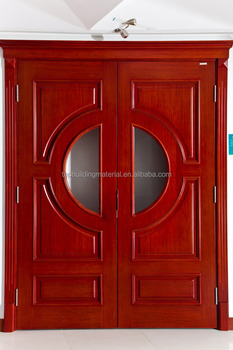 Carving entry door custom entry wood glass main door design