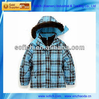 Winter Childrens Jacket with Beautiful Design