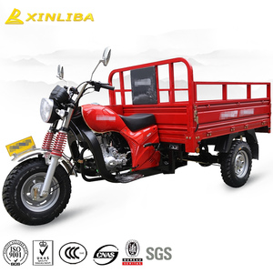 red tricycle 3 wheel motor adult tricycle bike