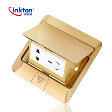 Inkton Pop Up Multimedia Floor Mounted Sockets/Ground Outlet Box