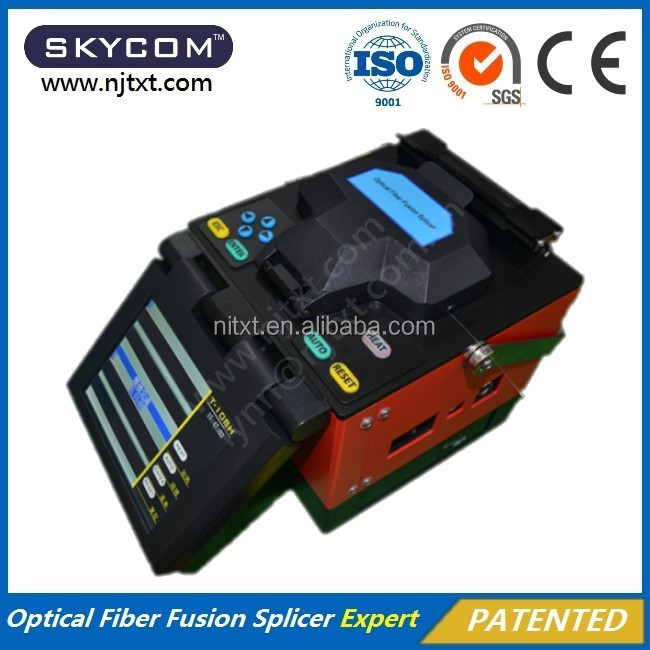 SKYCOM T-108H/fibra optica/fusion splicer/soudeuse fibre optique