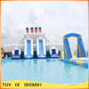 2016 hot sale giant inflatable slide with pool