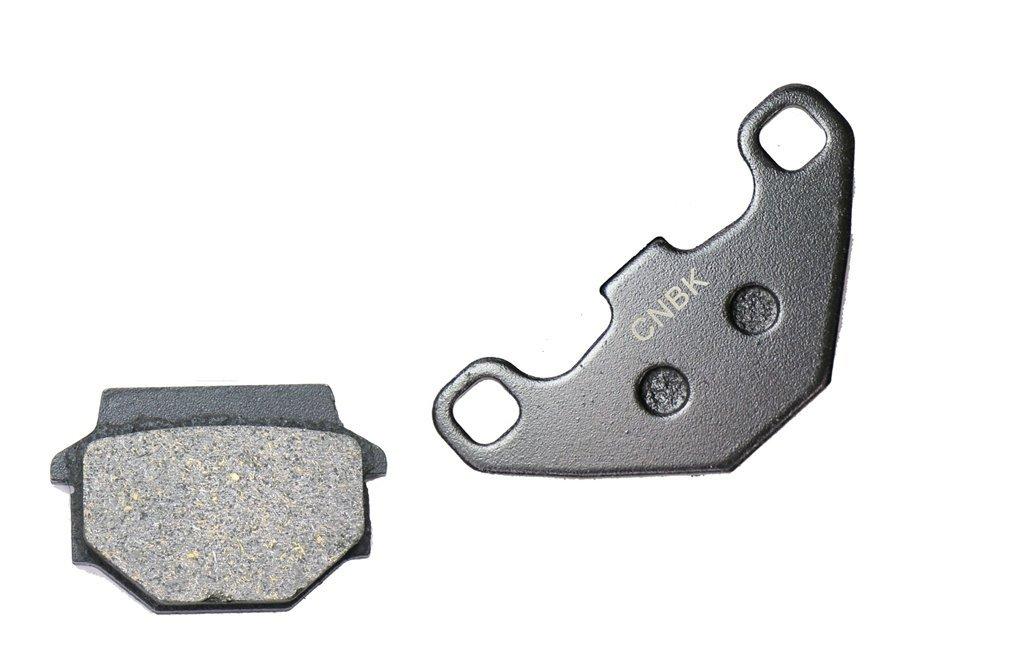 CNBK Front Right Brake Pad Semi Metallic fit APACHE ATV RLX320 RLX 320 Utility 1 Pair(2 Pads)