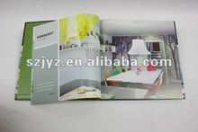 Hard cover book printing service/magazine printing
