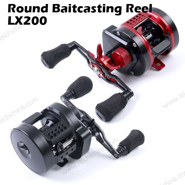 New wholesale fishing reels CNC round baitcasting reel