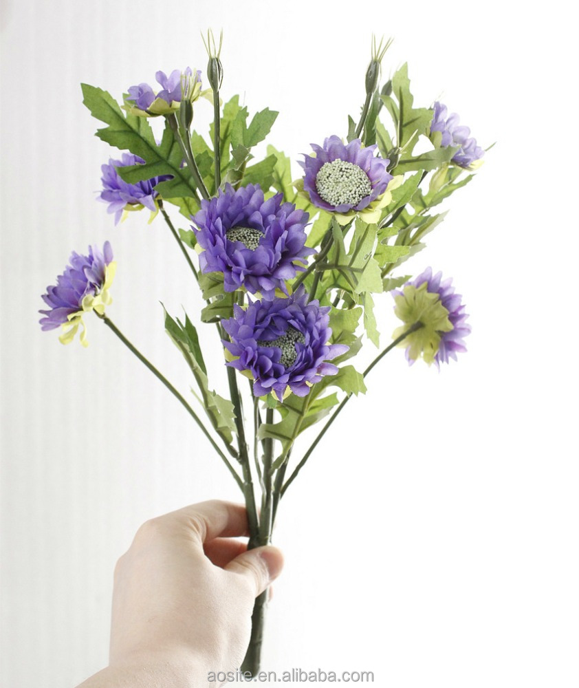 Cheap Artificial Flowers Mini Daisies Funeral Flowers Artificial