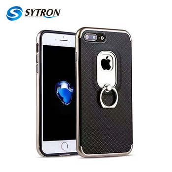 New Ce Approved Ring Tpu Pc Case For Iphone 8 Cell Phone Case With