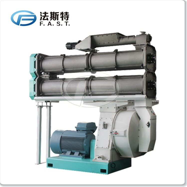 CNC processing pellet machine producer factory animal feed pellet mills