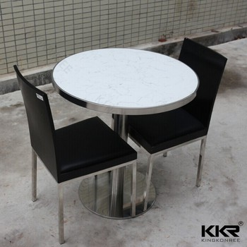 Acrylic Solid Surface Kitchen Table Top, 36 Inch Round Table Top