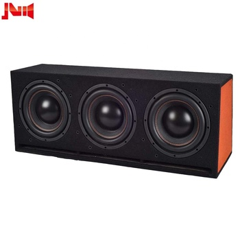 JLD Max Power 600W Sealed dual vented passive triple 10inch 40Oz magnetic motor  subwoofer enclosure box