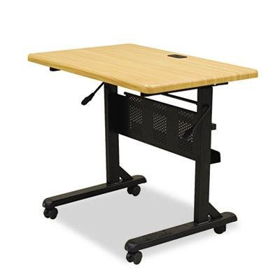 Get Quotations Balt Flipper Training Table Rectangular 36w X 24d 29 1 2h Teak