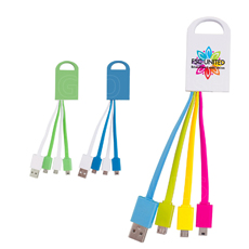 OEM Originality 4 - In - 1 USB สายชาร์จที่ดีที่สุดมีแหวนสาย USB Hub สำหรับสมาร์ทโฟน Charger