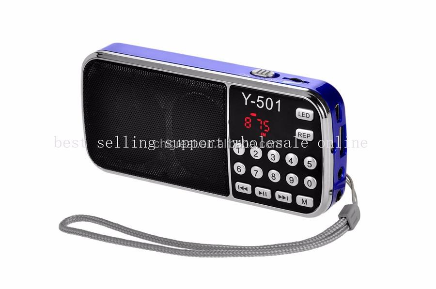 Portable Pocket Mini Am Fm Dual Band Two-way Digital Radio ...