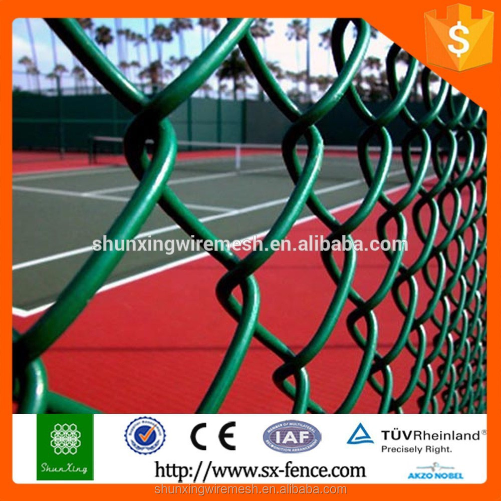 basketball chain link mesh/fence post for chain link wire