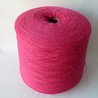 Turkish knitting machine thread sewing crochet yarn dyeing 10% Angora 22% nylon 68% polyester rabbit hair yarn for socks